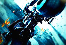 Batman Motorbike Ride