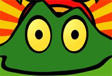 Frog Motorbike