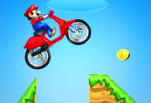 Mario Bross Motobike