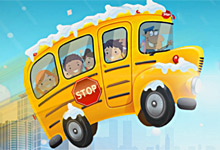 Winter School Bus Parking Final